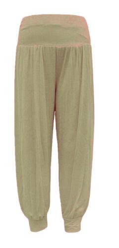 Ropa De Mujer Para Mujer Llanura Haren Pantalones Pantalones Leggings Ali Baba Baggy Aladin Boho Hippy 8 26 Meiggsdelivery Cl