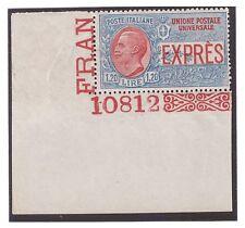 REGNO 1922 -  ESPRESSO NON EMESSO  LIRE 1,20   NUOVO  ** NUMERO DI TAVOLA