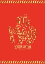 Got7 - Mad Winter Edition Happy Ver CD 22 Postcards 18p Lyrics 4stickers Diary
