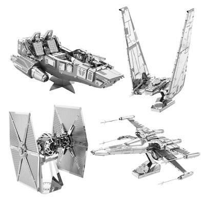 Star Wars Episode VII Metal Earth 3D Bausätze : Alle 4 Modelle