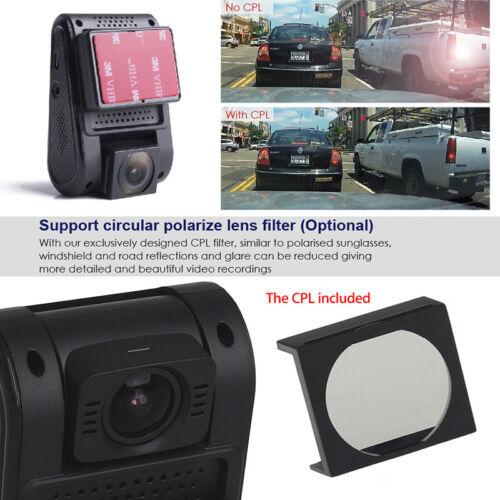 Harter Draht Viofo A119S V2 Auto-Schlag-Kamera DVR 1080p HD 135 ° GPS CPL