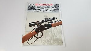 1984-Winchester-Firearms-Catalog-Guns-Rifles-Illus-Vtg-US-Repeating-Arms-S8