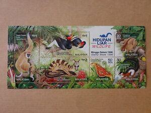 Miniature-Stamp-FV-Rm5-Hidupan-Liar-Wildlife-Minggu-Setem-Stamp-Week-1996