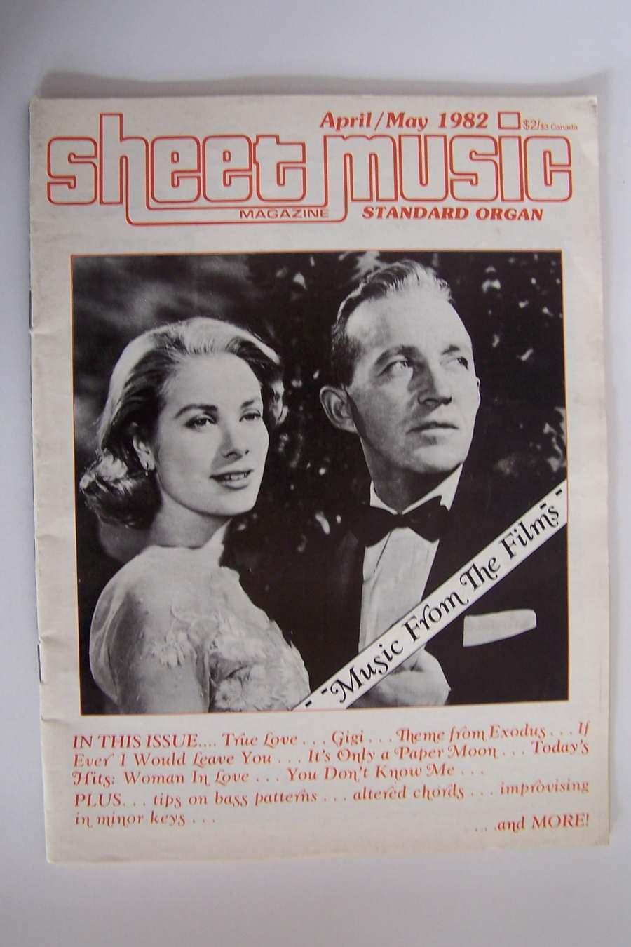 Sheet Music Magazine April/May 1982 Volume 6 No 4 Music
