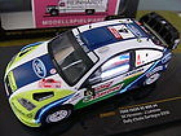 1 43 IXO FORD FOCUS RS WRC RALLYE D'ITALIA SARDEGNA 2006 Hirvonen-Lehtinen  4