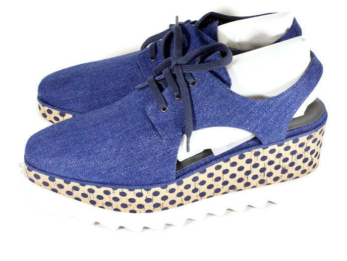 Stella McCartney Elyse Découpe Plateforme Chaussures Taille 40 US 9 453634W1A40