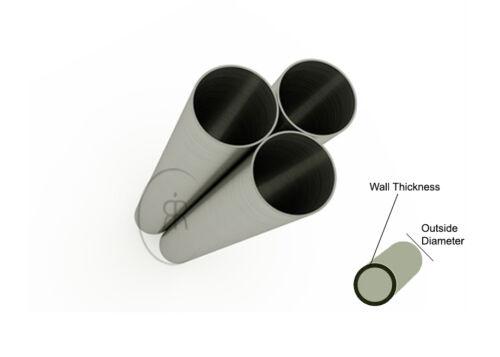 """Diameter /& Many Length Choices Aluminium Tube Aluminium Round Tube 1/"""" 25.4mm"""