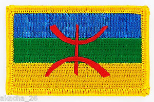 PATCH ECUSSON BRODE DRAPEAU KABYLIE KABYLE INSIGNE THERMOCOLLANT NEUF PATCHE sAhdi9SF-09163049-651154618