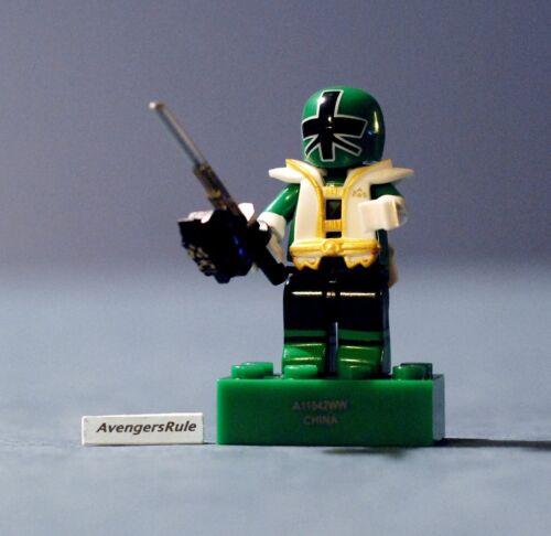 Mega Bloks Power Rangers Series 2 Green Ranger Super Samurai Mode Rare