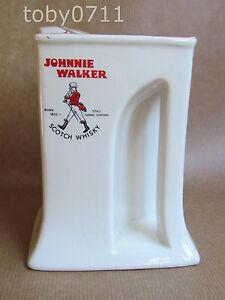 WADE-JOHNNY-WALKER-STRIDING-MAN-WHISKY-JUG-FLARED-BASE-RARE-SHAPE-Ref931