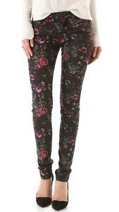 électrique 172 Jeans noir 27 maigre Floral Nwt Denim Joe's femmes Le pour q1ZtF