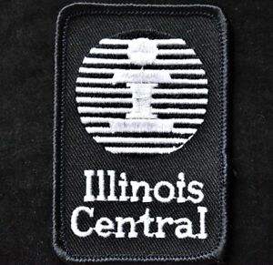 Vintage-Railroad-Sew-On-Patch-Illinois-Central-Railroad-Illinois-Railroadiana
