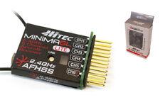 Hitec 26614 Minima 6L End Block Lt 2.4GHz Full Range 6Ch Micro Receiver