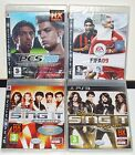 PLAYSTATION 3 PS3 LOTTO 4 GIOCHI DISNEY SING IT PES 2008 FIFA 09 - GAMES NUOVI
