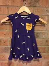 LSU Tigers Toddler Girl Dress Chicka-d 3T NWT