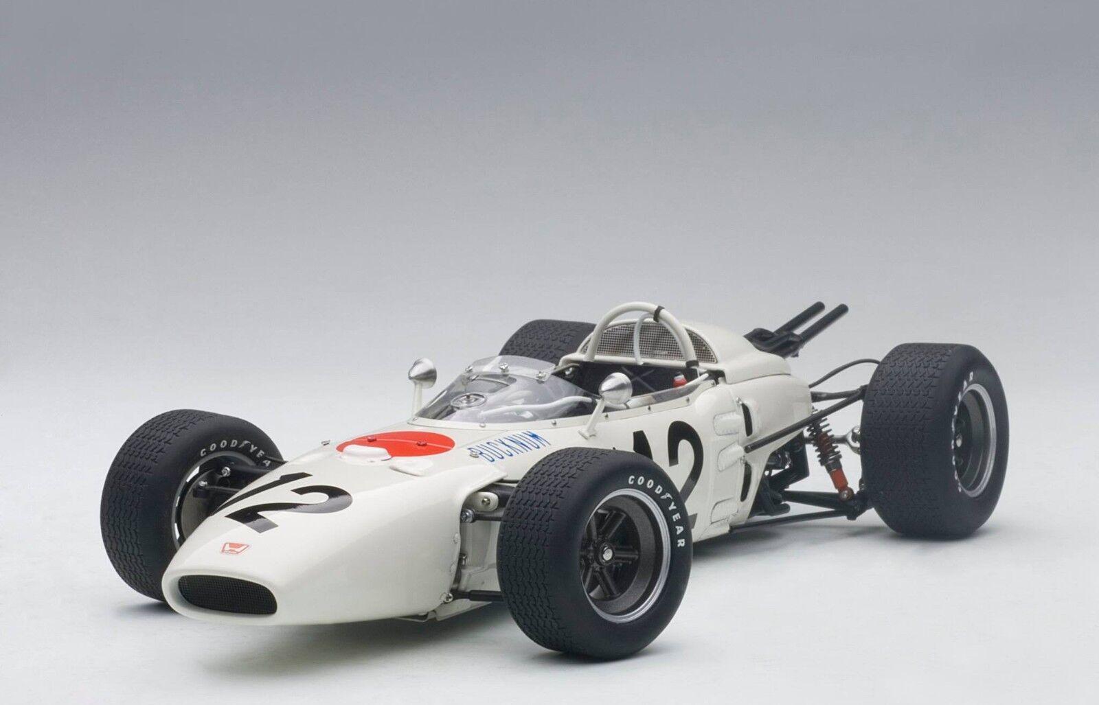 la calidad primero los consumidores primero Autoart Honda RA272 F1 Gran Premio Mexico 1965 Ronnie Ronnie Ronnie Bucknum 12 0.1cm Stock  orden en línea