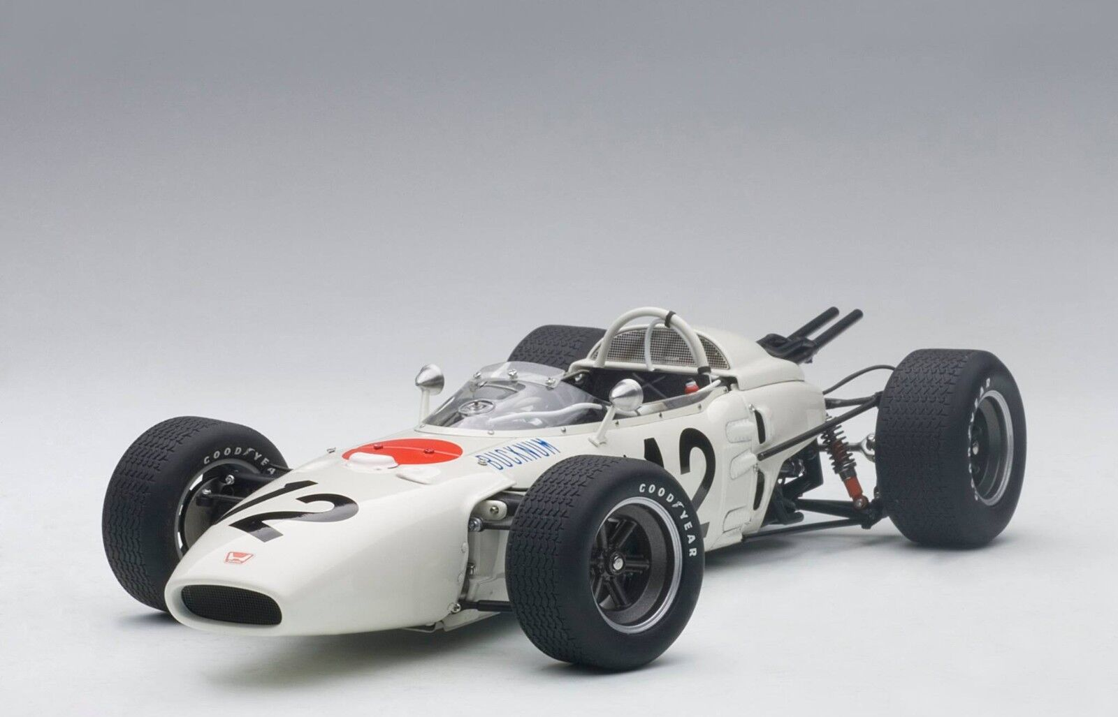 Autoart Honda RA272 F1 Gran Premio Mexico 1965 Ronnie Bucknum 12 0.1cm Stock