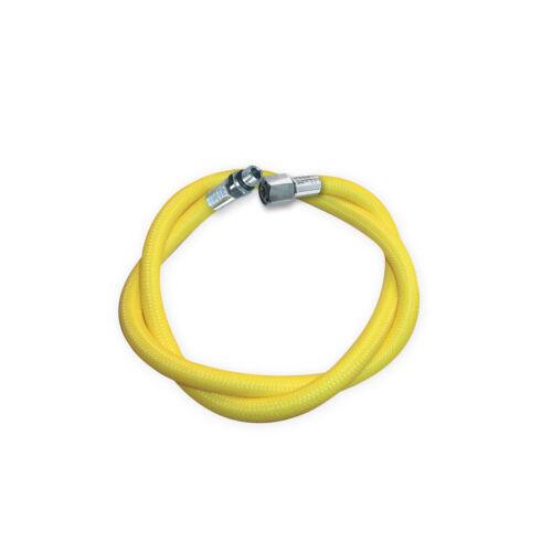 """Miflex Mitteldruckschlauch 1//2/"""" UNF gelb 210cm"""