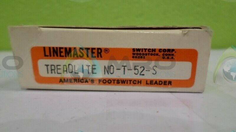 LINEMASTER T-52-S FOOTSWITCH LEADER NEW IN BOX
