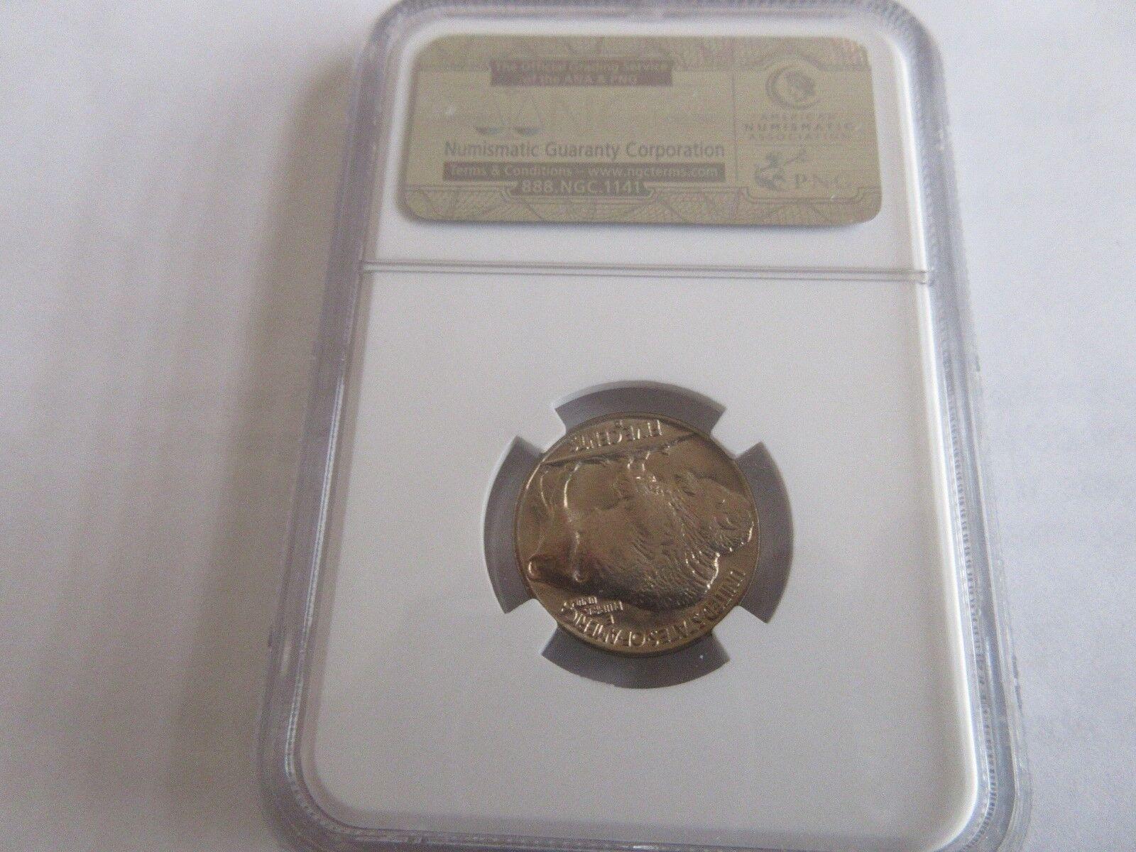 1938-D , Buffalo Nickel , NGC MS 66