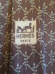 Hermes-Paris-Men-039-s-Neck-Tie-704-OA-100-Silk-Made-In-France
