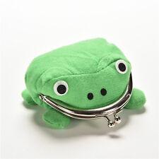 Uzumaki Naruto Frog Shape Cosplay Coin Purse Wallet Soft Furry Plush Gift