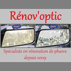 Constructif Kit RÉnovateur Optiques / Glaces De Phare Polycarbonate Complet Et Universel