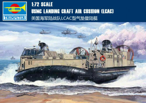 Trumpeter 07302 1 72nd Scale USMC Landing Craft Air Cushion (LCAC)