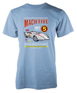 Mach-cinq-Custom-Vintage-Voiture-De-Course-Service-and-Repair-KIDS-T-Shirt