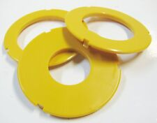 """Router Table Insert Ring Set, 3"""" OD, Fits Many Sears Craftsman & Others Set of 3"""