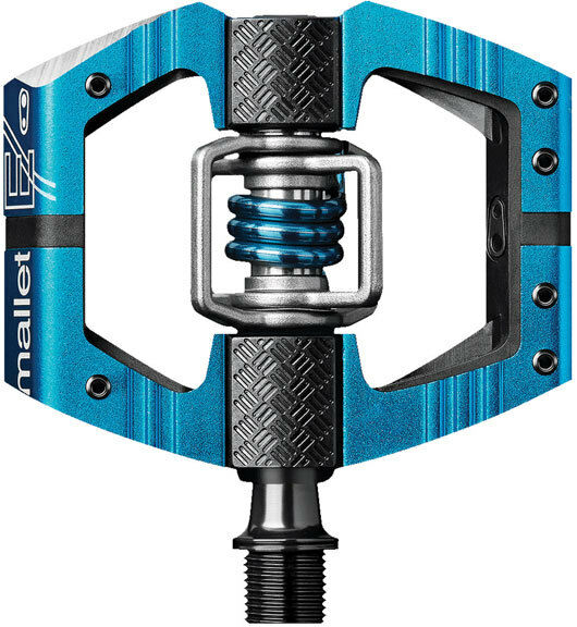 Crank Bredhers Mallet E Platform MTB Enduro Downhill Pedals - Electric bluee