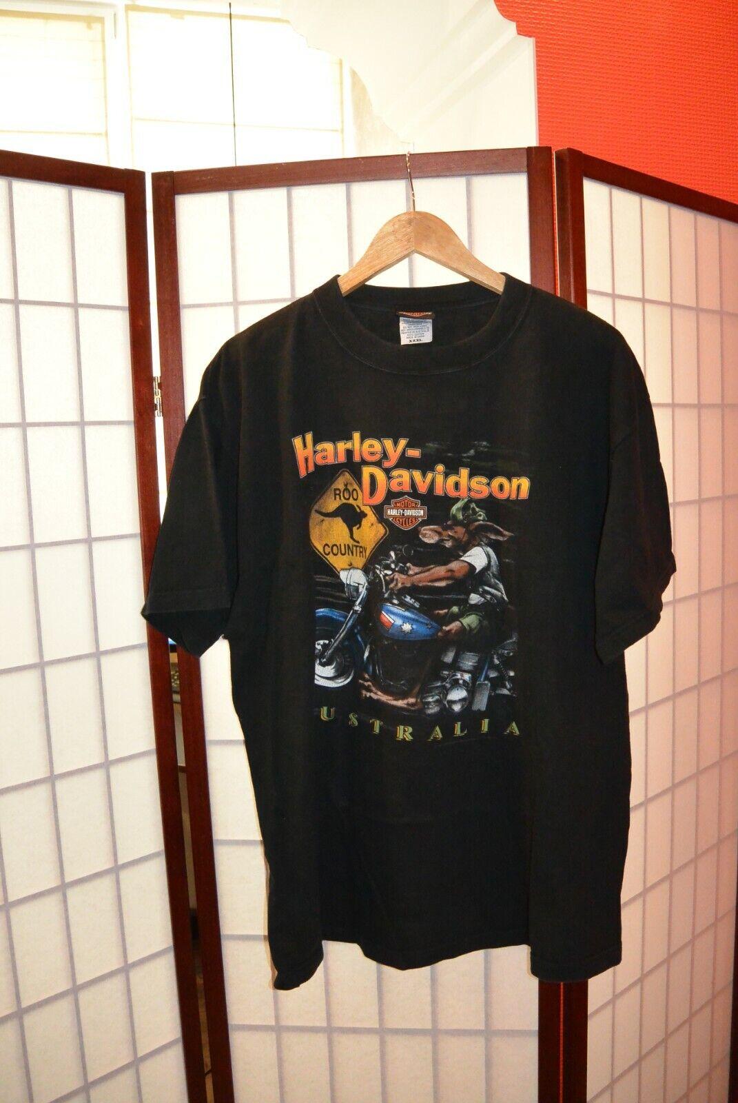 Harley Davidson Australia Country Roo 1997 tee shirt XXXL 3 XL
