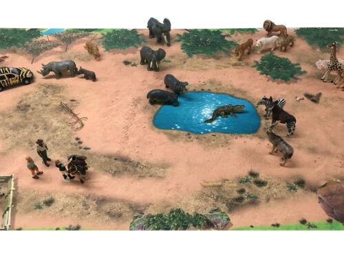 ca Spielteppich Serengeti SM08 Spielmatte 150 x 100 cm