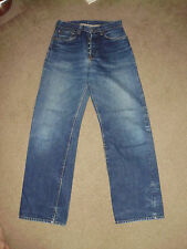 SUGAR CANE Men's SELVEDGE 29 x 32 Straight Jeans Made in America USA