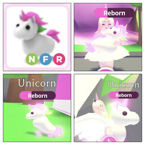 Roblox Adopt Me Neon Fly Ride Unicorn Free With Purchase Of