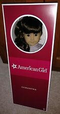 "American Girl doll Samantha, 18"" size-New, NRFB-dk brown hair, brown eyes"