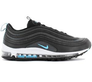 Detalles de Nike air max 97 Hombre Fashion Sneaker BV1985 001 Negro Zapatos Deportivas Nuevo