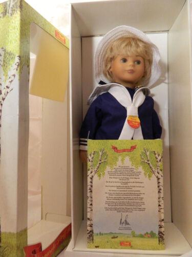 Stoffpuppe Steiff Puppe Bernd 42 cm Nr 9210/42 1987
