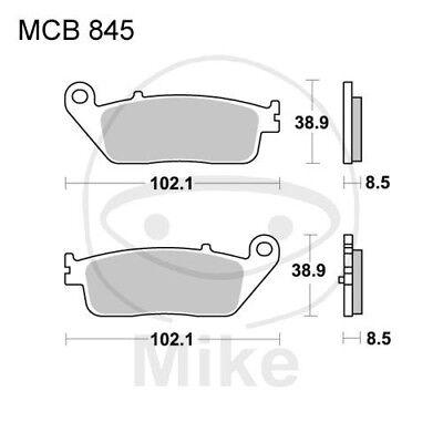 Motorradteile Auto & Motorrad: Teile Energisch Trw Lucas Bremsbeläge Mcb845srm Hinten Kymco Xciting 500