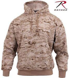 Image is loading Mens-Desert-Digital-Camo-Hooded-Sweatshirt-Rothco-Fleece- c6a22f63f90