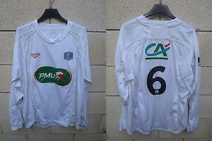 Maillot-F-C-ISTRES-porte-n-6-COUPE-DE-FRANCE-Duarig-away-shirt-PMU-manche-longue