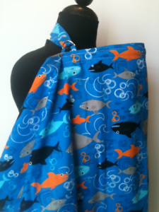 Breastfeeding cover ESSIE Designs nursing cover,Shark Nursing cover
