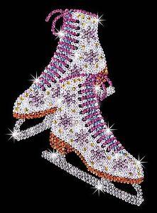 KSG-Sequin-Art-Original-Paillettenbild-Schlittschuhe-1306