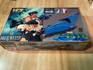 The Secret of Blue Water Nadia Submarine Nautilus Figure Toy Tsukuda Ideal JAPAN