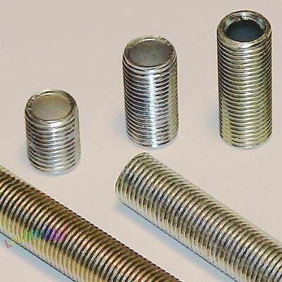 Modesto 3 Pezzi M10x1, M10 X 1 Filetto Tubo Di Ferro-acciaio L = 40mm Tubo Di Filettatura Tubo Di Acciaio-n Stahlrohr It-it Mostra Il Titolo Originale