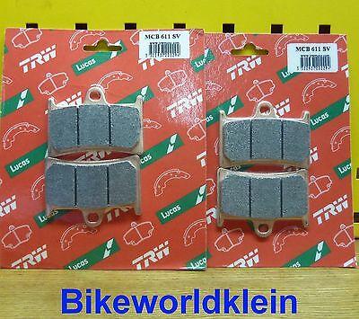 vorne Bremsbel/äge TRW MCB611SRM f/ür YAMAHA FZ1 1000 Fazer RN16 06-