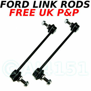 MONDEO-JAGUAR-x-FRONT-Anti-roll-Bar-Link-Stabiliser-Drop-Links-Rods-Sway-bar-x-2
