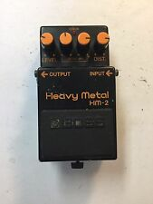 Boss HM-2 Heavy Metal Distortion Vintage 1986 Guitar Effect Pedal MIJ Japan