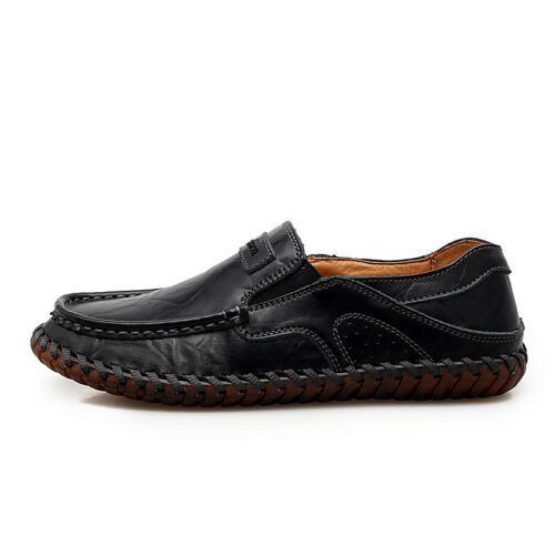 Ths01 Mens Driving Moccasins Casual Slip On Loafers Shoes Walk Big Size 39-48 XX