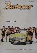 Autocar magazine 31/3/1961 featuring Buick Special road test, Targa Florio